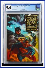 Legends Of The World's Finest #1 CGC Graded 9.4 DC 1994 Embossed Cov. Comic Book