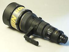 (PRL) NIKON NIKKOR NITAL AF-S 400 mm f/ 2.8 D IF ED TRUNK CASE CT-402 HOODS EX+