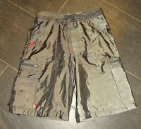Vintage ECKO Baggy Shorts silber-glänzend - ca. 20 J. alt -> sehr guter Zustand!