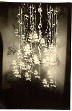 Sapin de Noël flou - photo ancienne an. 1950