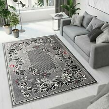 TAPISO  BEAUTIFUL MODERN RUG TOP DESIGN LIVING ROOM! Different Sizes GREY