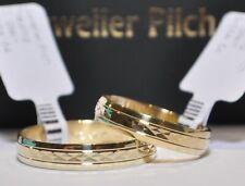 Ein Paar Trauringe Eheringe Hochzeitsringe Partnerringe Gold 585 Breite 4mm
