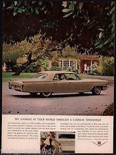 1964 CADILLAC 4-door Hardtop Classic Car Photo AD