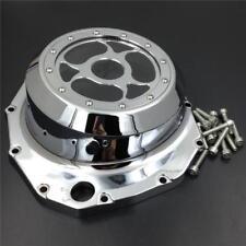 See through Engine Clutch Stator Cover For 99-13 Suzuki Hayabusa GSX1300R Chrome