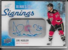 15-16 Upper Deck Ice Jiri Hudler Rinkside Signings