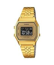 Casio LA680WGA-9B Ladies Gold Tone Digital Stainless Steel Watch LA680WGA-9