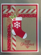 Stampin Up HANG YOUR STOCKING Photopolymer Stamp Set~New