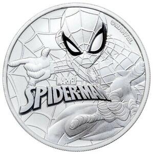 Marvel - Spider Man 1 oz Silver Bullion Coin