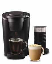 Keurig K-Latte Maker, Comes-Cup Coffee and Latte Single Serve with Milk Frothe