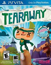 TEARAWAY PS VITA SONY PLAYSTATION NEW VIDEO GAME