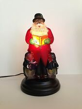 Old World Christmas 2016 Caroling Santa Light #529773