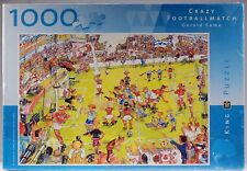 King Jigsaw Puzzle Crazy Football Match Gerold Comb 1000 Pieces 48 X 67 Cm