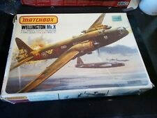 Matchbox Vickers Wellington MkX/MkXIV 1/72nd Scale 3 colour Model Kit. Complete