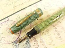 Green Stratford Fountain Pen Pencil Combo - restored