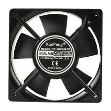 12025 Black 220V 120x120x25mm Brushless Silent Cooling Fan for LED Display