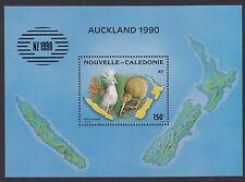 BIRDS : NEW CALEDONIA 1990 New Zealand 90  min sheet (Birds) SGMS889 MNH