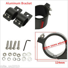 49-54mm Car Motorcycle Fork Clamp Headlight Turn Signal Holder Aluminum Bracket