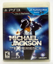 Michael Jackson: The Experience (Sony PlayStation 3, 2011) PS3 GAME COMPLETE