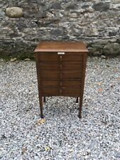 Vintage 1950's Chest Of Drawers / Multi Drawer Chest / Music Cabinet