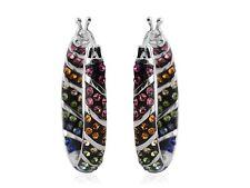 Austrian Crystal Inside Out Earrings