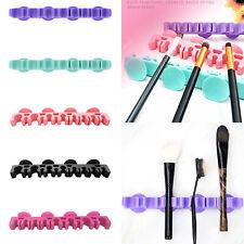 Toothbrush Beauty Makeup Brush Holder Cosmetic Organizer Drying Storage Rack