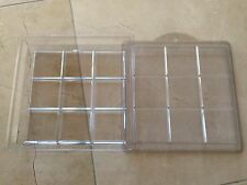 NEW Plastic 9 Bar Soap Mold - Makes 9 bars
