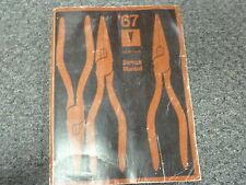 1967 Pontiac Firebird Trans Am & GTO Original Shop Service Repair Manual Book