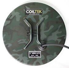 "Coiltek 11-inch ""Elite"" Round Camo Mono Searchcoil - Minelab Sd, Gp or Gpx"