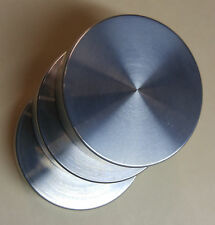 HAND POLISHED  3 Aluminum Bradley Smoker Bisquettes Save $ Save expensive pucks