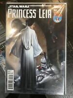 Star Wars Princess Leia #2 2015 Marvel Star Wars Mile High Comics Variant