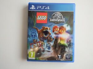 LEGO Jurassic World on PS4 in MINT Condition