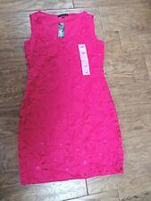 TIANA B. women's NWT sz S pink sleeveless $98 above the knee dress