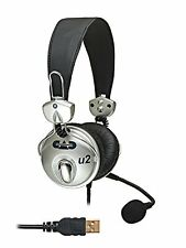 CAD*U2*U-2 USB Stereo DJ Headphone with Boom Boradcast Mic FREE 2-DAY NEW