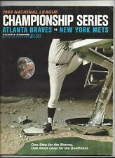 1969 National League Championship Program (Mets vs. Braves) ex-nm (see scan)