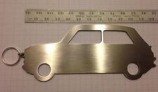 Large Oldschool Mini Key Ring Silhouette Cooper John Cooper Works One