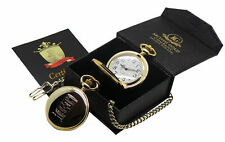 More details for andy warhol signed gold pocket watch luxury gift case box pop art campbell soup