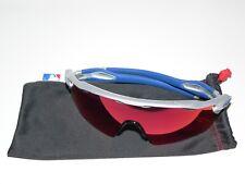 Oakley Radar EV MLB Silver Blue Prizm Field Frame Racing Jawbone Jawbreaker M2