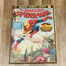 Amazing Spider-man wall hanging poster wood picture 153 cover marvel comics vtg