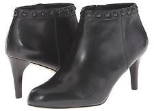 NIB Coach A00310 Holiday Soft Shine Black Leather Bootie Size 10