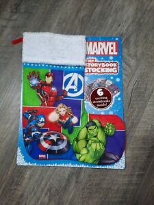 Marvel My Storybook Stocking 6 Storybooks Inside - New