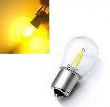 1x Ampoule BAU15S LED PY21W Jaune Orange pour Clignotants Voitures Utilitaires