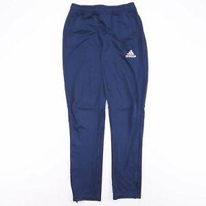 ADIDAS  Blue Regular Sports Track Pants Boys XL