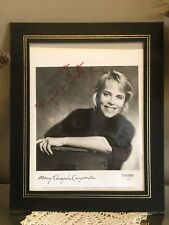 Mary Chapin Carpenter Signed Columbia Promo Photograph Country Music Autograph
