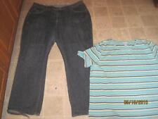 Riders plus sz 24w 32 M comfort no gap straight leg jeans & Liz & Me lot u2