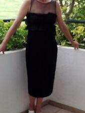 Vestido de seda MNG, negro talla L, puesto una vez