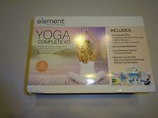 Element The Mind & Body Experience Yoga Complete Kit 3 DVD's Meditation L@@K