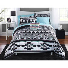 Tribal Black And White Bed In A Bag Bedding Set TWIN/TWIN XL KID TEENS DORM ROOM