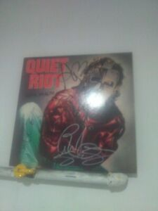 Quiet Riot Signed LP Metal Health By 4 Musicians Frank Banali Kevin Dubrow