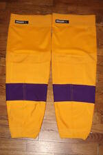 LOS ANGELES KINGS vintage throwback gold socks RBK XL w/Kevlar linings