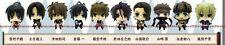 Hakuoki Shinsengumi Strap Figure set of 10 Hakuouki mini anime official